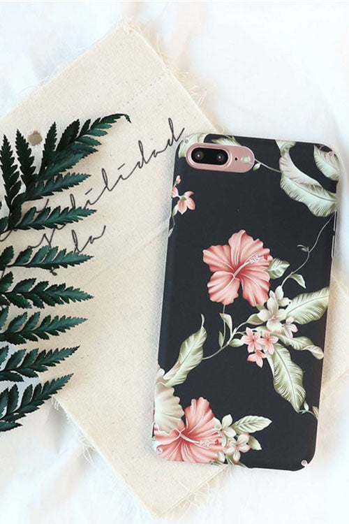 Floral Print IPhone Case