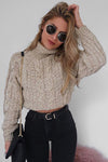 Cozy Days High Neck Sweater
