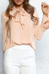 Chiffon Long Sleeve Shirt