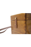 Cube Wooden Shoulder Bag