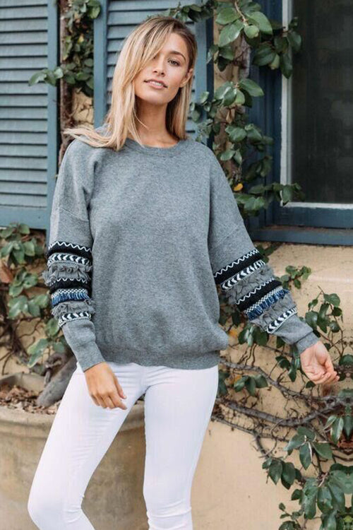 Boho Vibes Long Sleeve Top