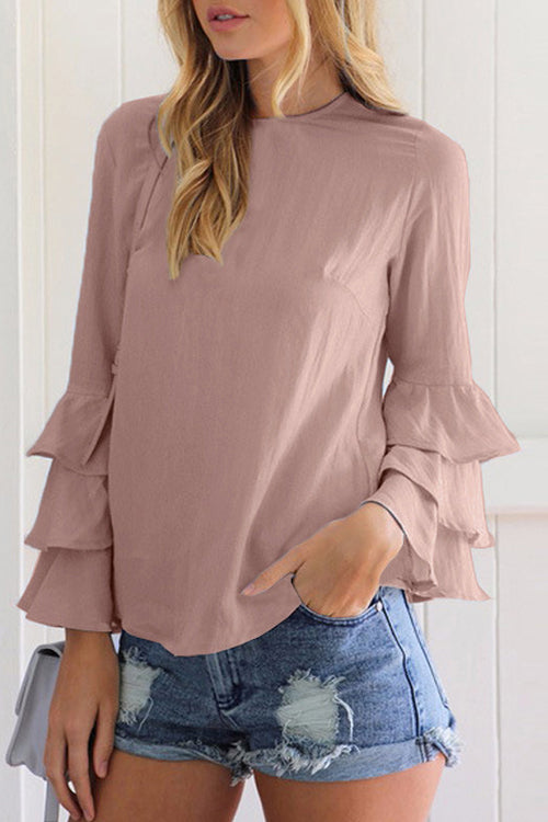Daily Delight Ruffle Top