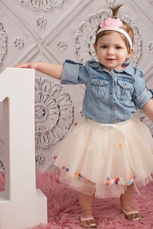 Fluffy Ball Tulle Baby Skirt