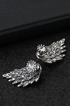 Angel Wing Metallic Earrings