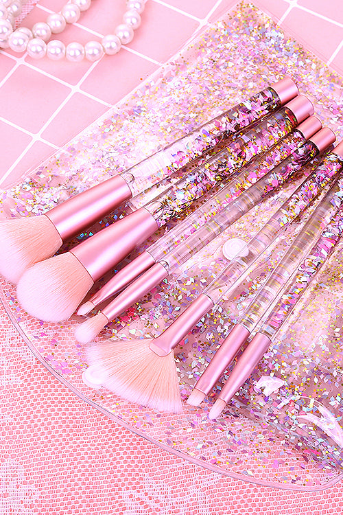 Mermaid Glittering Sequin Makeup Brush