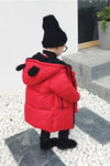 Boy/Girl Pure Color Zipper Outwear
