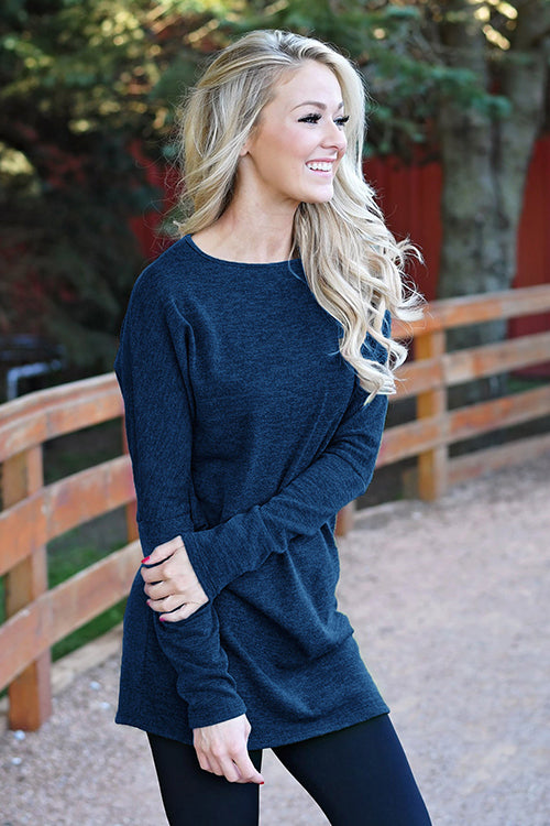 Make It Simple Sweater Dress