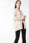 Drop Shoulder Cardigan