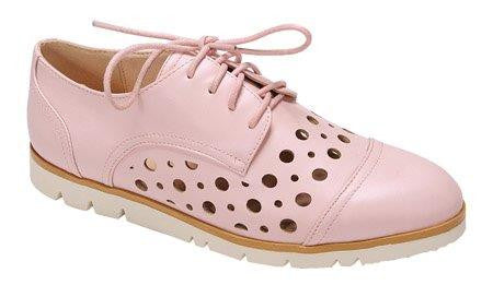 Pink Oxford Ladies Shoe