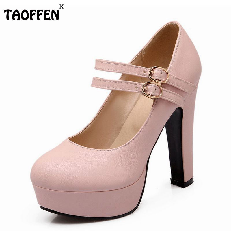 "Women""s stiletto high heel shoes sexy lady platform spring fashion heeled pumps heels shoes plus big size 31-47"