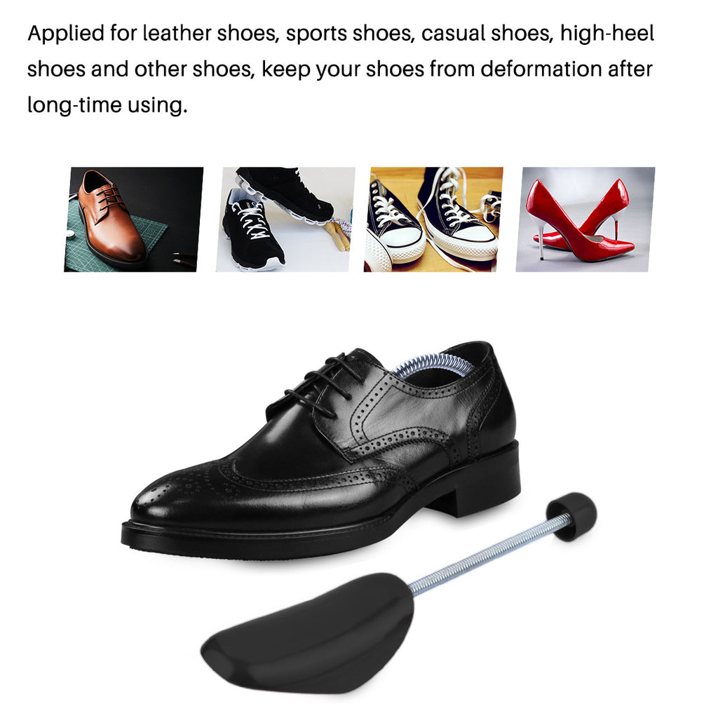 Men Shoe Tree Stretcher 2pcs Elastic Spring Adjustable