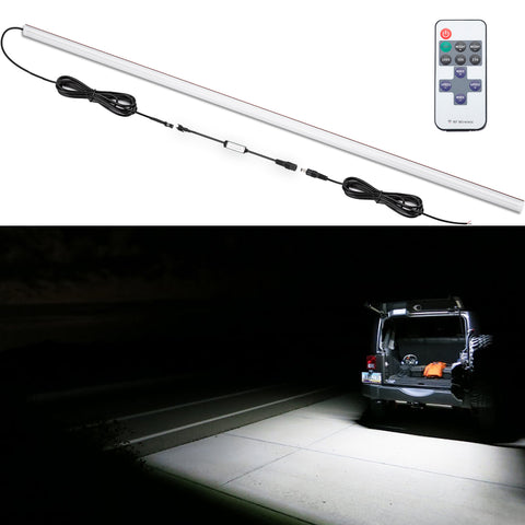 Jeep JK JL Rear Liftgate LED Dome Light Bar for Camping Fishing Outdoor Project