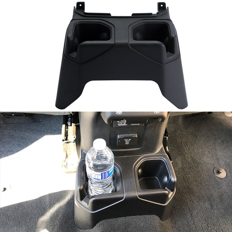 Jeep Wrangler JL Rear Cup Holder Floor Mount for Rubicon