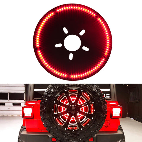 2018 2019 Jeep Wrangler JL JLU third brake light ring LED