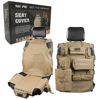 Sunpie Seat Cover Case for Jeep Cherokee CJ YJ Ford F150 (Khaki/Black)