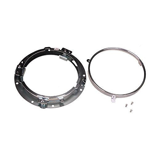 7 Quot Round Headlight Ring Mounting Bracket For Harley