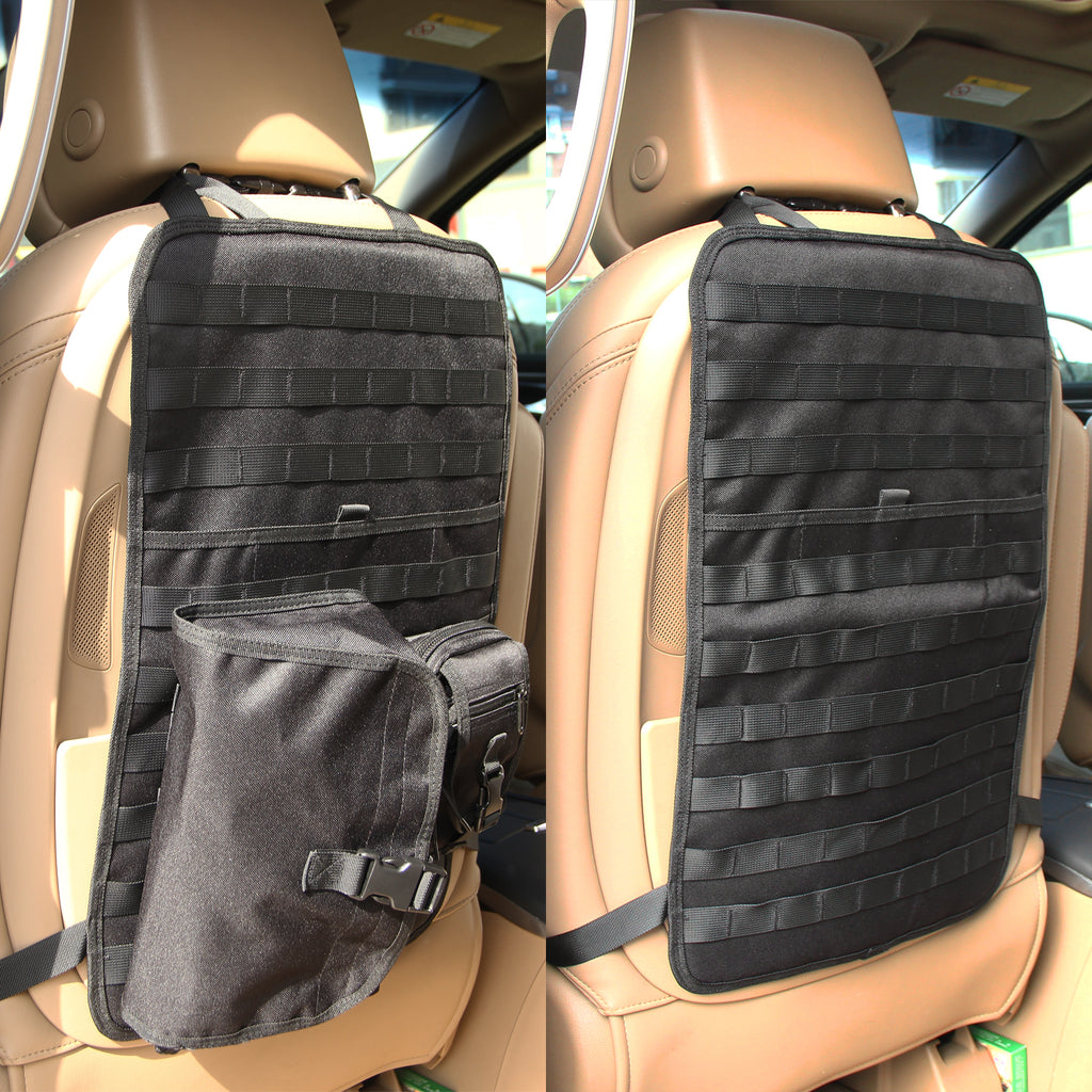 Jeep Wrangler Led Headlights >> Universal Tactical Seat Cover with MOLLE Storage Bag & EDC ...
