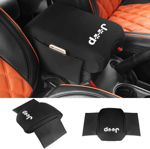 Jeep Wrangler JK Center Console Cover with Storage Bag