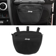 Passenger Grab Handle Bar Storage Bag For Jeep Wrangler JK JL TJ YJ CJ 1965-2019
