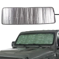 Jeep Wrangler JL JLU Front Windshield Sunshade Sun Shade Sun Visor 2018 2019 Interior Accessories