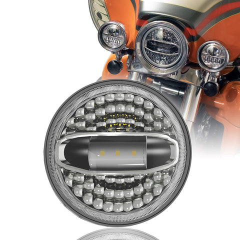 harley led headlight