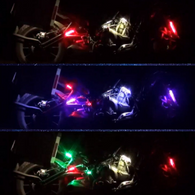 RGB sequential LED strip lights for motorcycles Harley Yamaha Honda Ducati Kawasaki