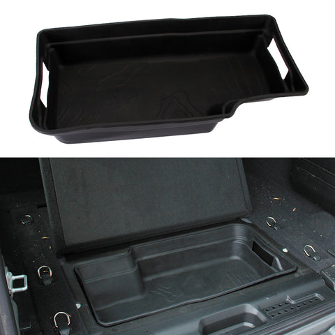 Jeep Wrangler JL JLU Rear Cargo Storage Tub Liner with Handles 2018 2019