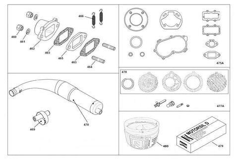 Exhaust (New 2018) And Gasket Sets