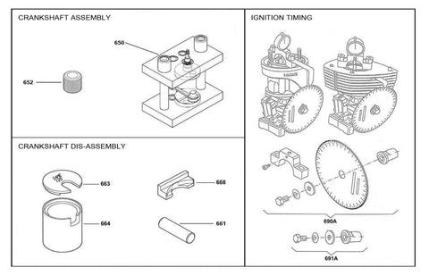 Crankshaft and Timing Tools