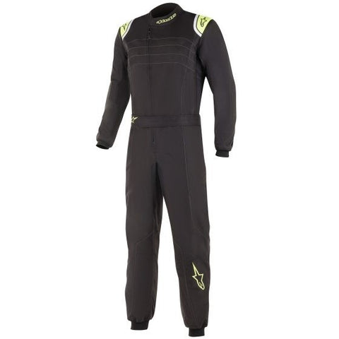 Alpinestars KMX 9 V2 Suit - Black/Yellow
