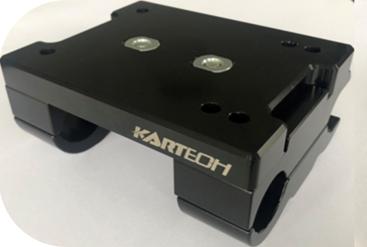 Kartech Engine Mount Slide Complete - Flat