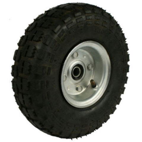Kartech Kart Trolley Wheel & Tyre 4in Steel Wheel/250X4 Tyre (Suits P/N: K03A)