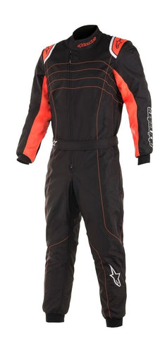 Alpinestars KMX 9 V2 S Youth - Black/Orange
