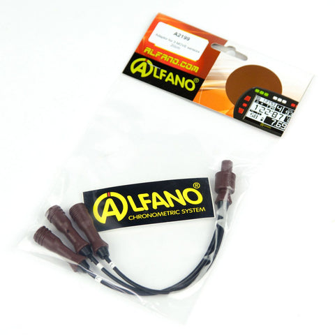 Alfano Pro III Evo Adaptor For 3 Movement Sensors 20 cm Leads
