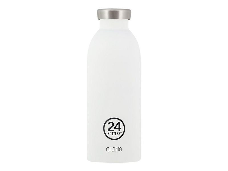 24 Bottles Thermosflasche Clima 500ml Ice White