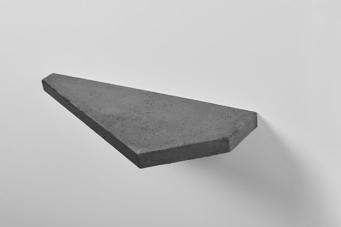 SHELF 01 - CONCRETE BLACK RIGHT