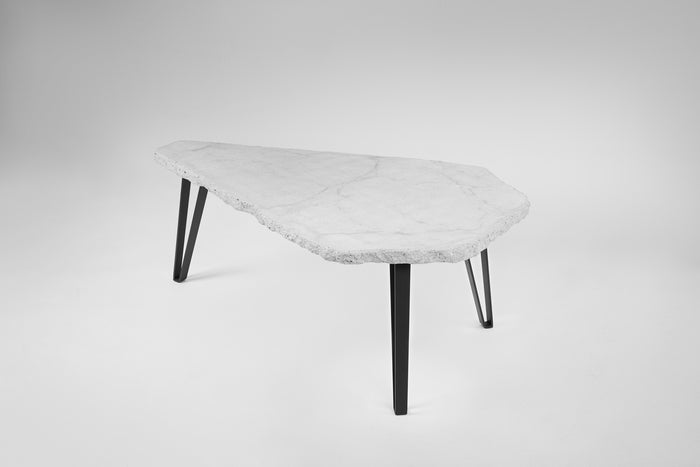 COFFEE TABLE 02 - CONCRETE WHITE