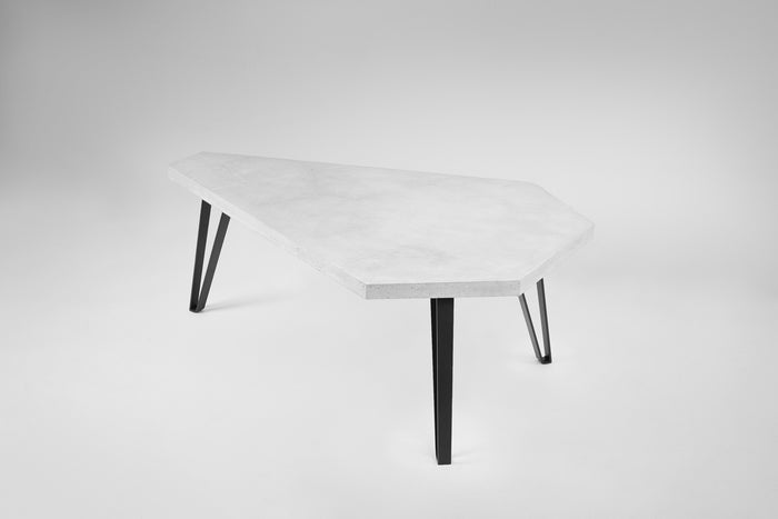 COFFEE TABLE 01 - CONCRETE WHITE