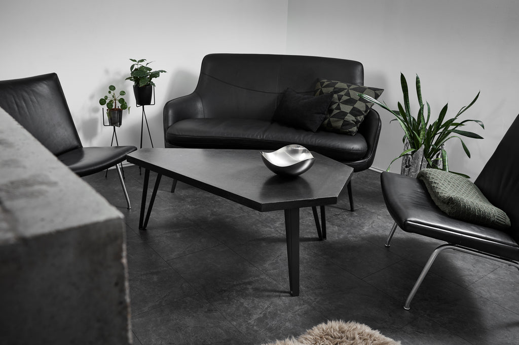 COFFEE TABLE 01 - CONCRETE BLACK