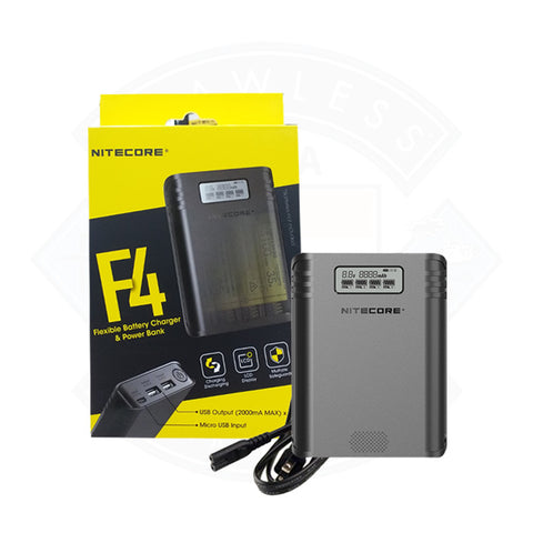 F4 Vape Battery Charger Nitecore
