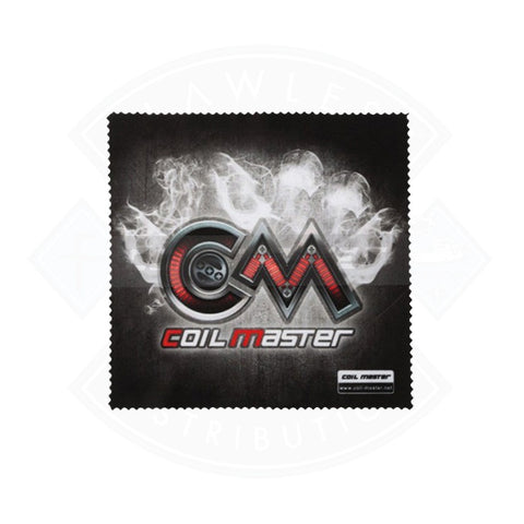 Polishing Cloth Vape Accessory Black Coil Master