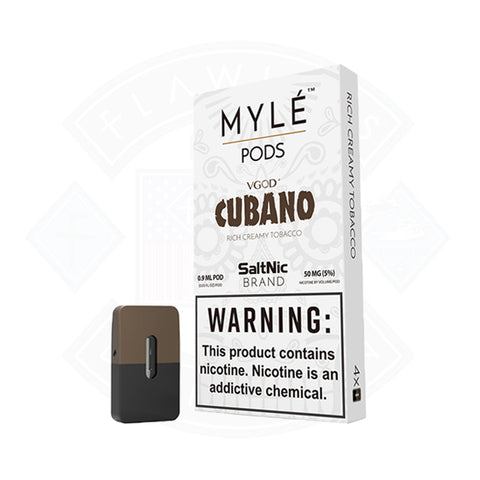 Vape Cartridge Myle Cubano