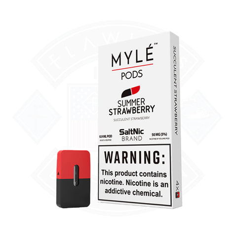 Vape Cartridge Myle Summer Strawberry