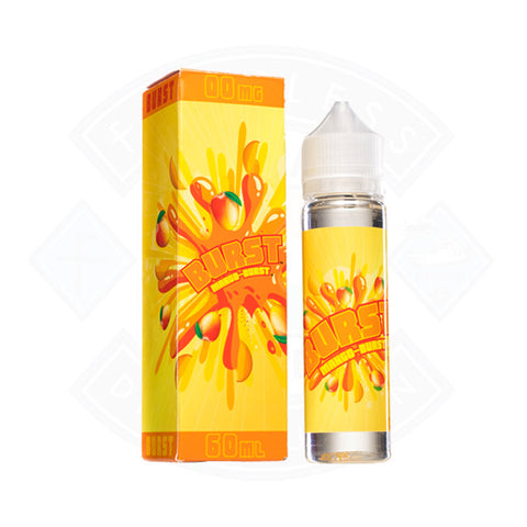 Vape E liquid Burst Mango Brust