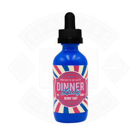 Vape E liquid Dinner Lady Berry Tart