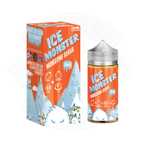Vape E liquid Ice Monster Mangerine Guava