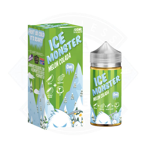 Vape E liquid Ice Monster Melon Colada