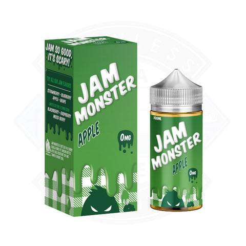 Vape E liquid Jam Monster Apple