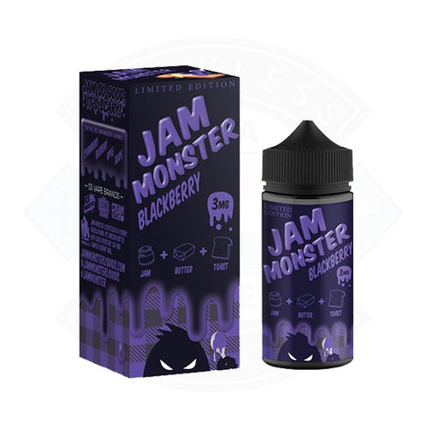 Vape E liquid Jam Monster Blackberry