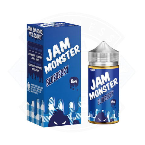 Vape E liquid Jam Monster Blueberry